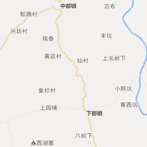 福建行政地图 龙岩行政地图