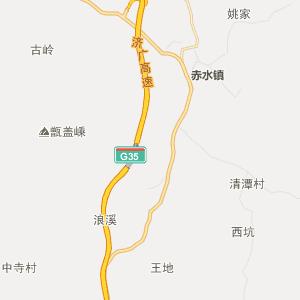 广昌县塘坊乡行政地图图片