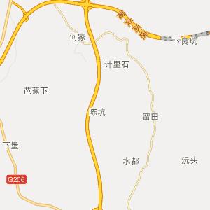 抚州广昌行政地图_广昌在线行政图