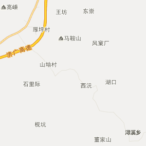 南城县建昌镇行政地图