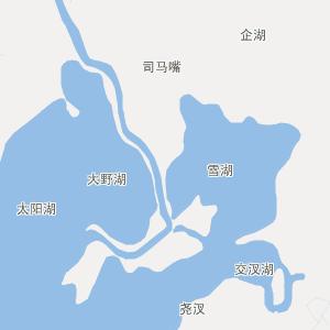 鄱阳银宝湖行政地图_中国电子地图网