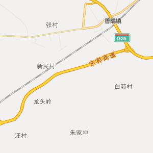安庆市望江县行政地图