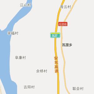 东至胜利行政地图_中国电子地图网