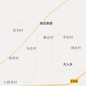 山东省行政地图 菏泽市行政地图