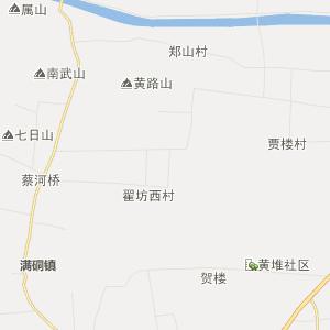 山东省行政地图 济宁市行政地图