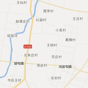 山东行政地图 聊城行政地图