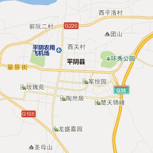 济南平阴行政地图_中国电子地图网