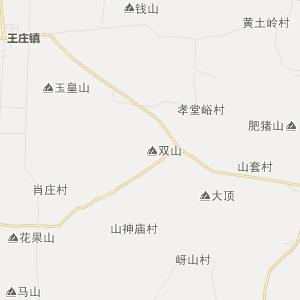 肥城市王庄镇行政地图图片