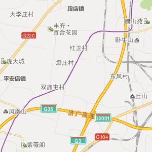 济南长清行政地图_长清在线行政图