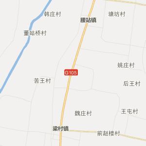 平原张华行政地图_中国电子地图网