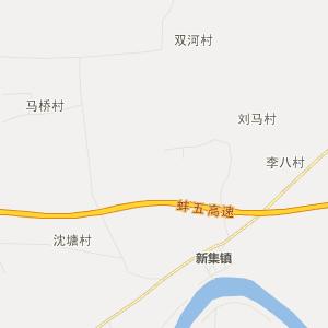 安徽行政地图 蚌埠行政地图