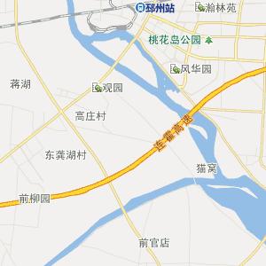 邳州市土山镇行政地图
