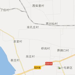 山东行政地图 枣庄行政地图