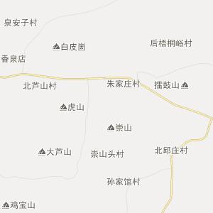 山东省行政地图 临沂市行政地图