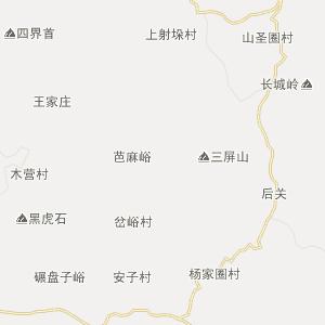 山东行政地图 济南行政地图