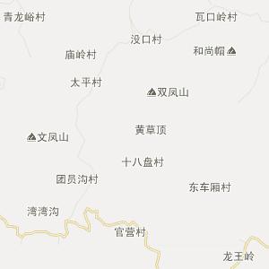 章丘市文祖镇行政地图