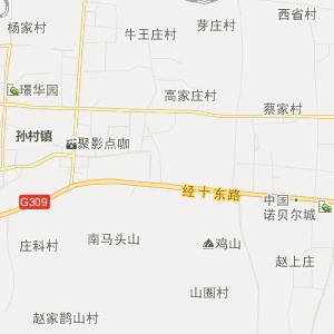 章丘龙山行政地图_中国电子地图网