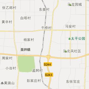 章丘市龙山地图