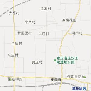 济南章丘行政地图_章丘在线行政图