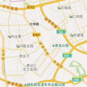 津南八里台行政地图_中国电子地图网