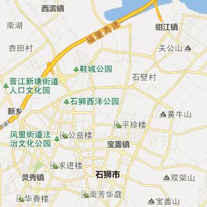= 晋江市永和镇行政地图 =
