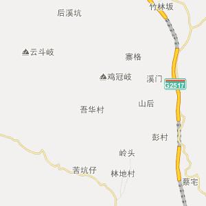 泉州德化行政地图_中国电子地图网