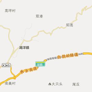 泉州永春高清行政地图