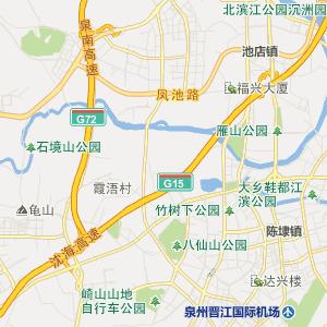 福建泉州行政地图_泉州在线行政图