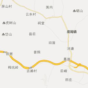 仙游社硎行政地图_社硎在线行政图