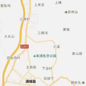 福建行政地图 南平行政地图