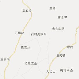 广丰排山行政地图_中国电子地图网图片