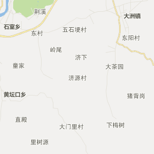 衢江廿里行政地图_中国电子地图网