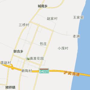 *正在兴建的马鞍山长江大桥与沪宁