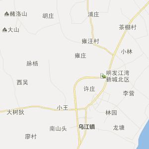 安徽行政地图 巢湖行政地图