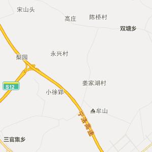 安徽行政地图 滁州行政地图