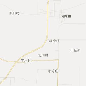 沭阳县龙庙镇行政地图