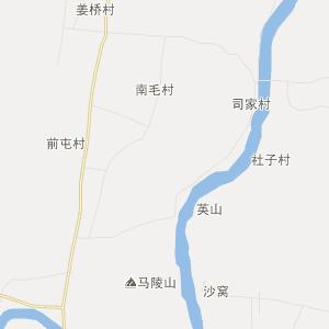 临沂市郯城县行政地图