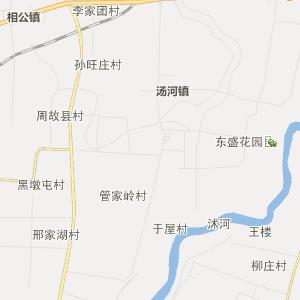 九曲街道卫星地图 临沂市河东区九曲街道卫星地图