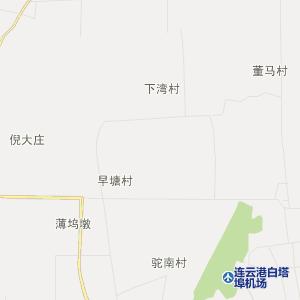 东海县白塔埠镇在线行政地图实用查询