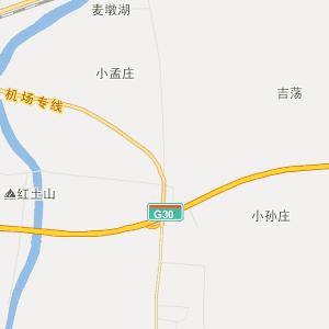 东海县白塔埠镇行政地图