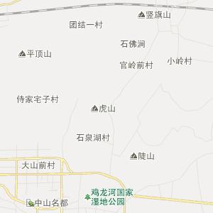 山东行政地图 临沂行政地图