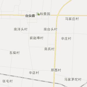 寿光田柳行政地图