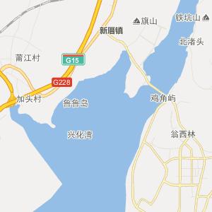 福建行政地图 莆田行政地图