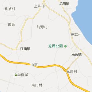 福清上迳行政地图_中国电子地图网图片
