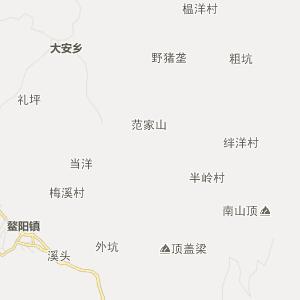 温州泰顺行政地图_中国电子地图网