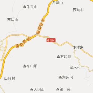 福建行政地图 宁德行政地图