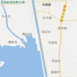 江苏行政地图 扬州行政地图
