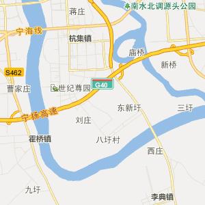扬州江都行政地图_江都在线行政图