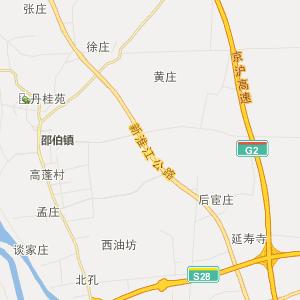 江苏省行政地图 扬州市行政地图