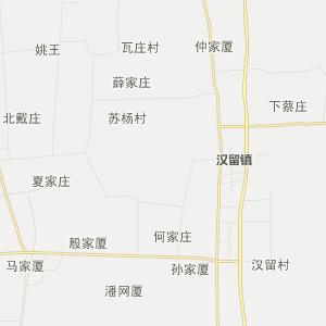 高邮市卸甲镇行政地图